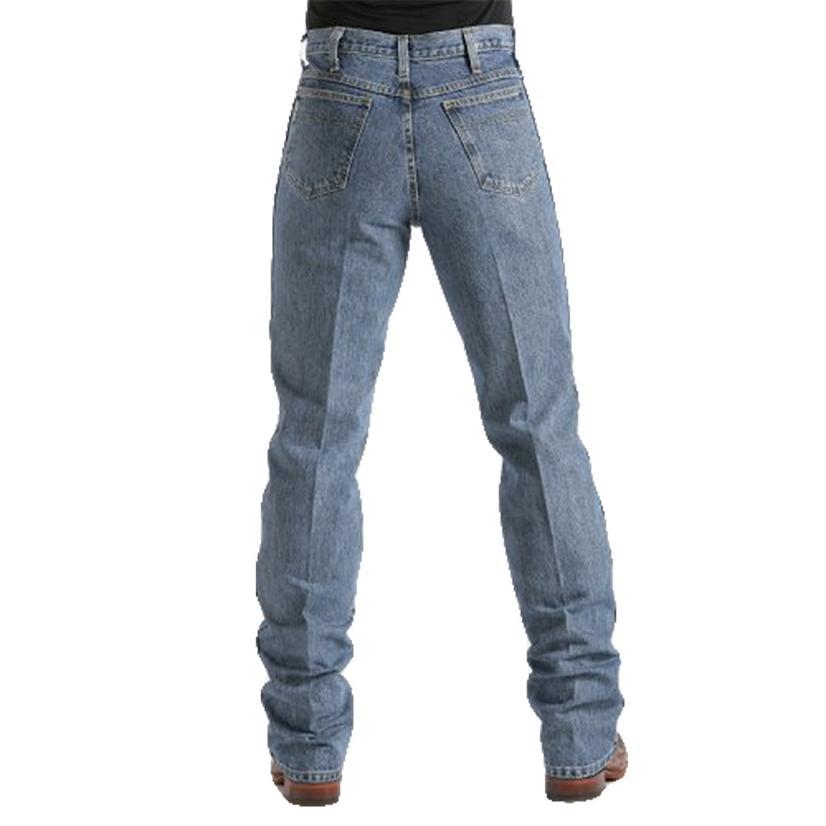 Cinch Bronze Label Medium Stonewash Slim Fit Jeans