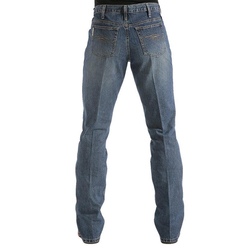Cinch Mens Dooley Relaxed Fit Boot Cut Jean - Dark Stonewash