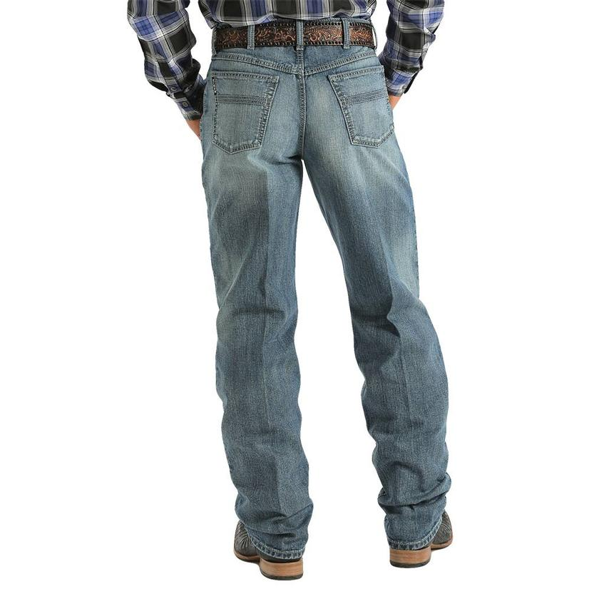 Cinch Mens Western Denim 2.0 Black Label Jeans
