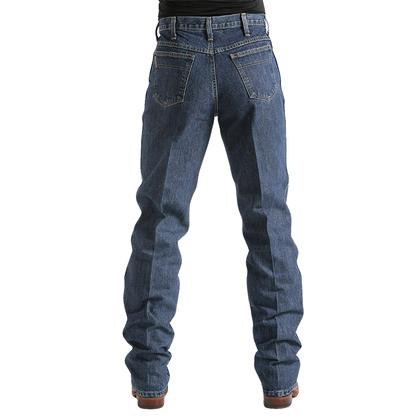 Cinch Mens Green Label Original Fit Relaxed Tapered Leg Jean - Dark Stonewash