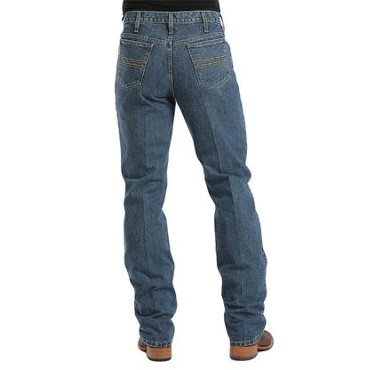Cinch Mens Silver Label Dark Stonewash Slim Fit Jeans