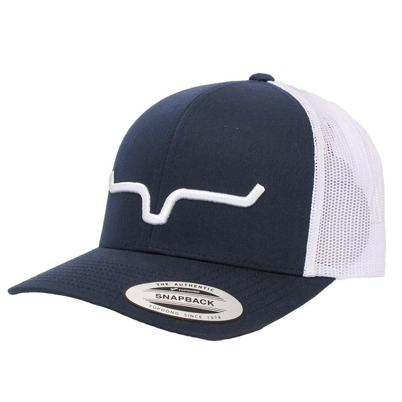 Kimes Ranch Navy Blue Trucker Cap
