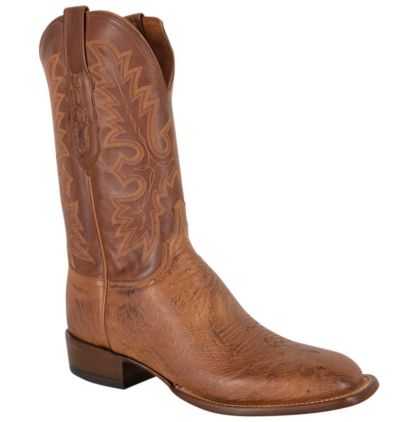 Lucchese Barnwood Smooth Ostrich