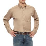 Ariat Men's Khaki Longsleeve Button Down Shirt