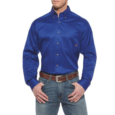 Ariat Men's Ultramarine Longsleeve Button Down Shirt