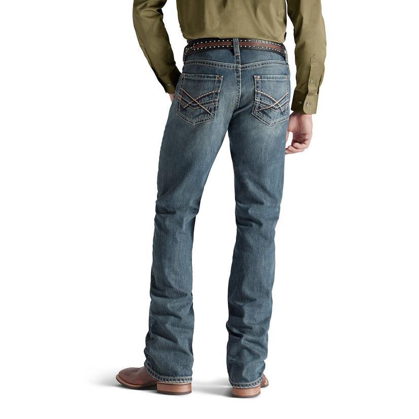 Ariat Mens M5 Slim Straight Leg - Deadrun