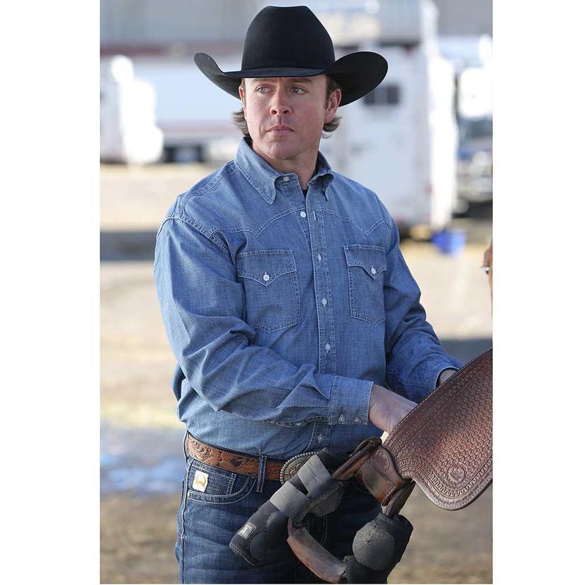 Miller Ranch Mens Western Shirt