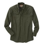 Miller Ranch Mens Western Shirt - Green/Black Plaid