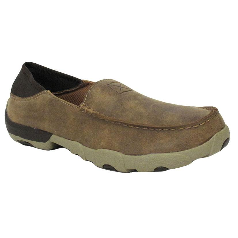 Twisted X Mens Driving Moc