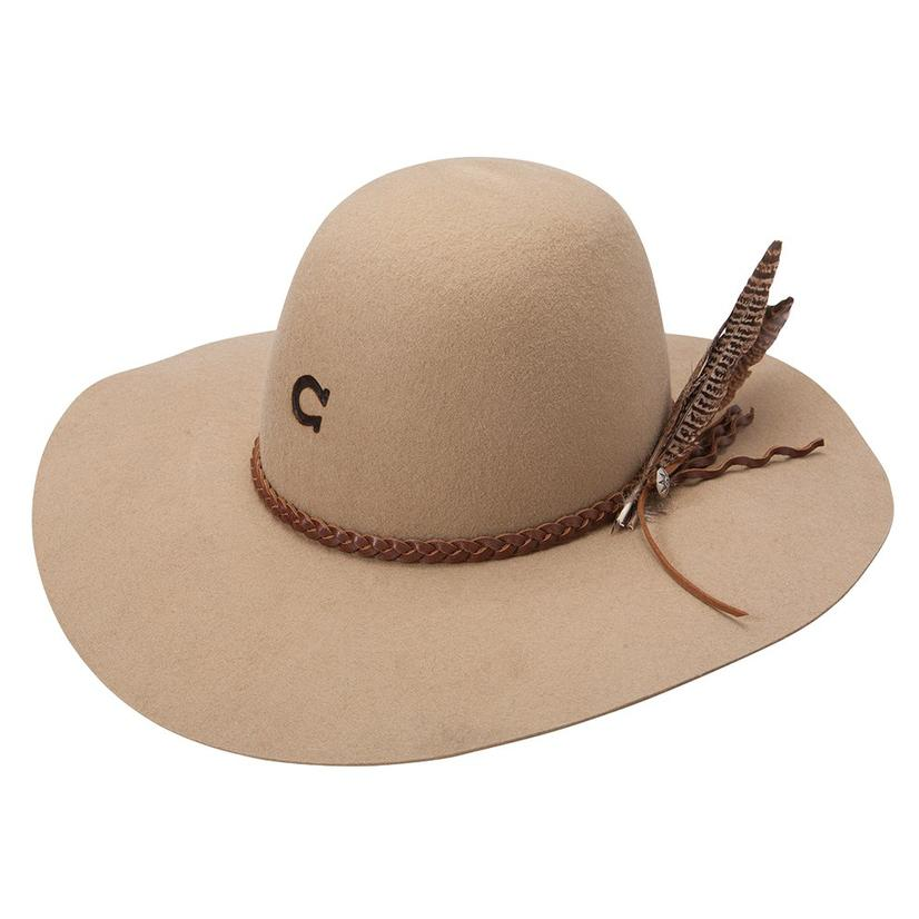 Charlie 1 Horse Wanderlust Felt Hat Sand