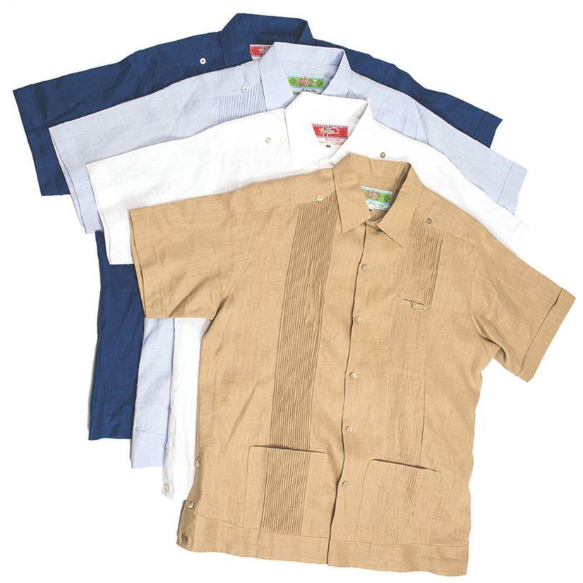 Mens Guayaberas Shirt