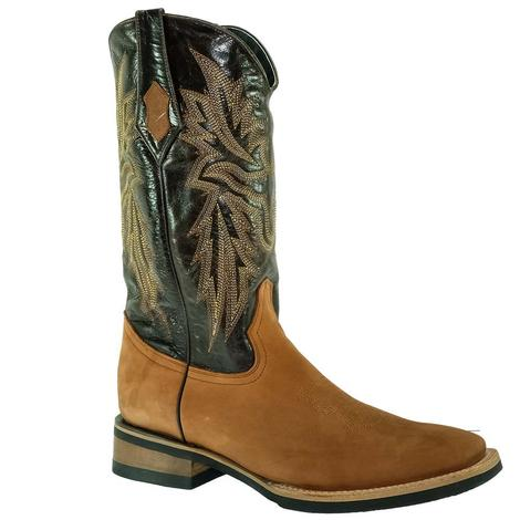 Ferrini Mens Maverick Brown Western Boots