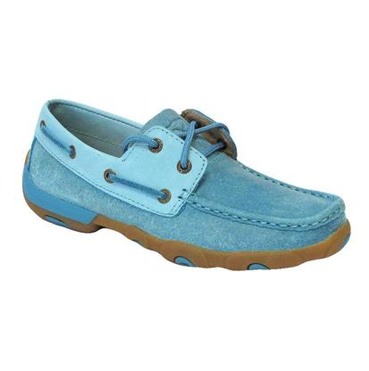 Twisted X Womens Ocean Blue Driving Mocs
