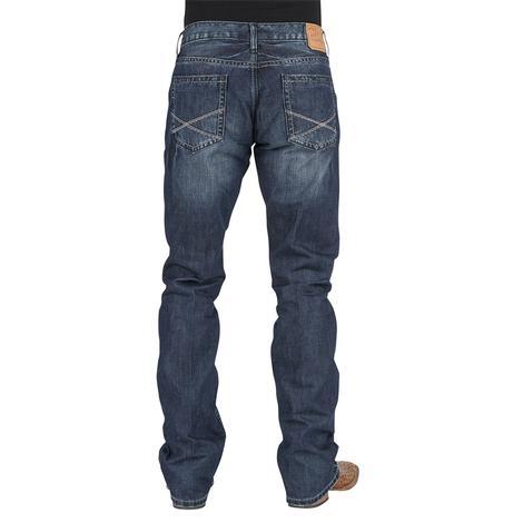 Stetson Mens Brazos Jeans