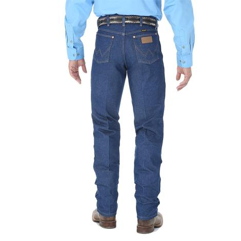 Wrangler Mens Original Fit Cowboy Cut Jean - Indigo (Extended Waist)