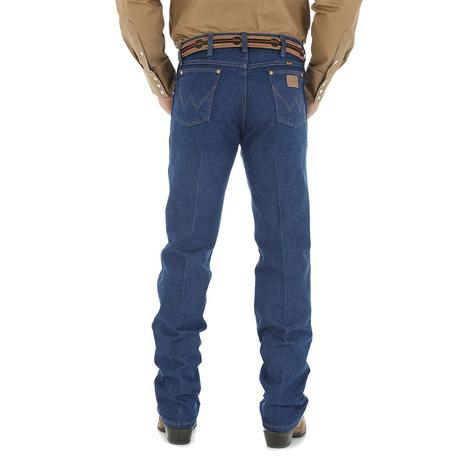 Wrangler Mens Cowboy Cut Original Fit Jeans (Extended Waist)