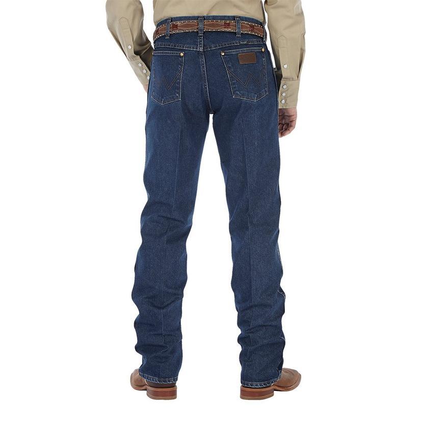Wrangler Mens Performance Cool Vantage Cowboy Cut Jeans (Extended Waist)