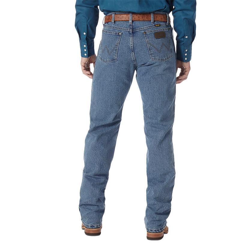 Wrangler Mens Premium Performance Advanced Comfort Jeans (Extended Length)