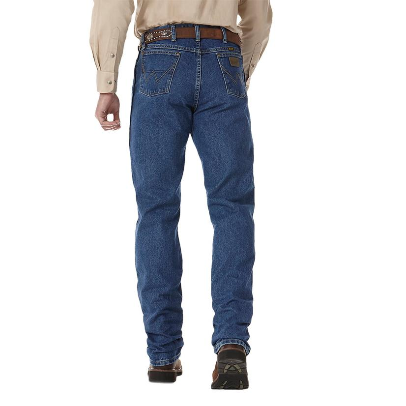 George Strait Wrangler Mens Cowboy Cut Western Jeans (Extended Length)