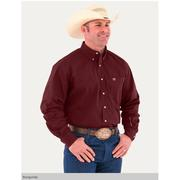 Noble Outfitters Mens Generations Fit Burgundy Long Sleeve