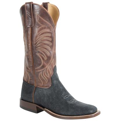 Anderson Bean Mens Black and Tan Elephant Explosion Mens Boots