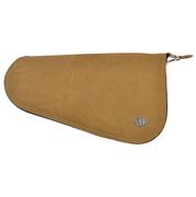 Tan Roughout Pistol Case (12 ¾ x 7)