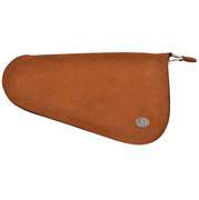 Brown Roughout Pistol Case (12 ¾ x 7)