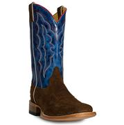 Cinch Mens Marble Blue Square Toe Boot