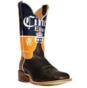 Cinch Edge Cerveza Mens Square Toe Boots