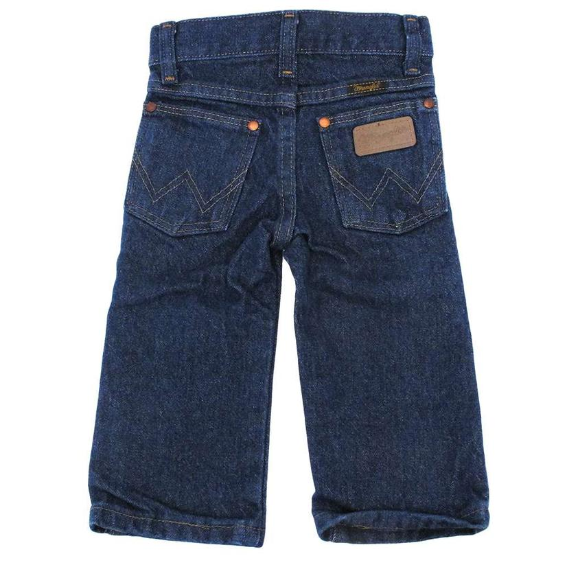48c251eb5 Wrangler Boys & Toddler George Strait Original Cowboy Cut Jean - Dark Wash