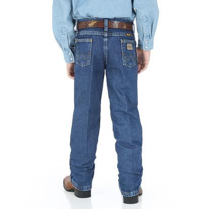 Wrangler Boys George Strait Cowboy Cut Jeans - Dark Wash