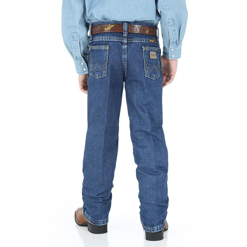 Wrangler Toddler George Strait Cowboy Cut Jeans - Dark Wash