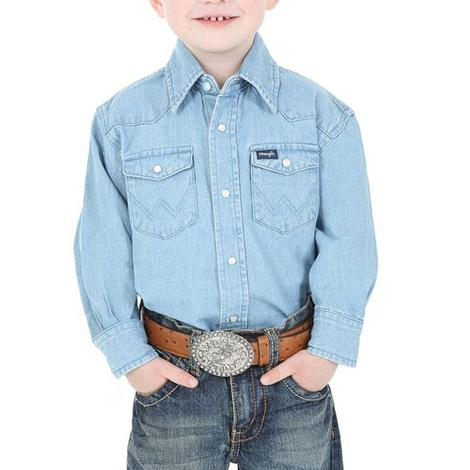 Wrangler Boys Western Snap Shirt