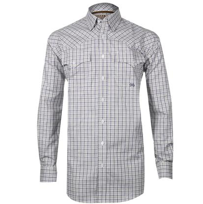 Miller Ranch Western Shirt - Blue