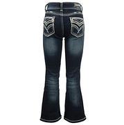 Grace In La Jeans W/Teal Stitching (7- 16)