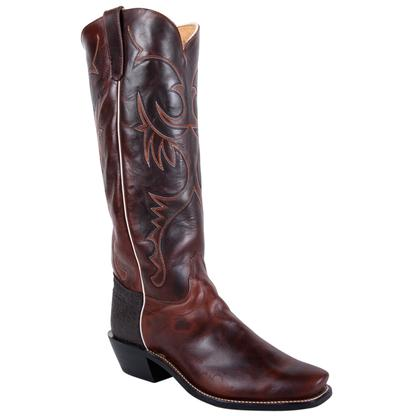 Olathe Mens Chocolate Tall Top Boots