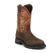 Tony Lama Sierra Badlands Waterproof Western Work Boots