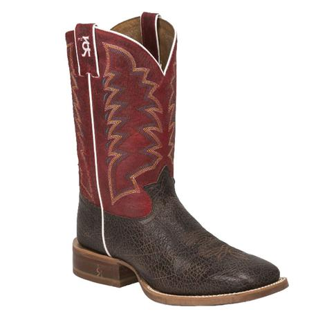 Tony Lama Mens Dusty Bonham 3R Stockman Boots