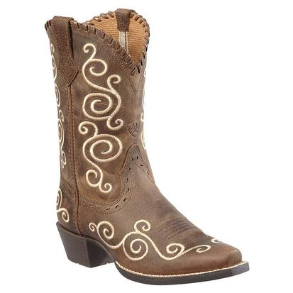 Ariat Kids' Shelleen Distressed Cowboy Boots