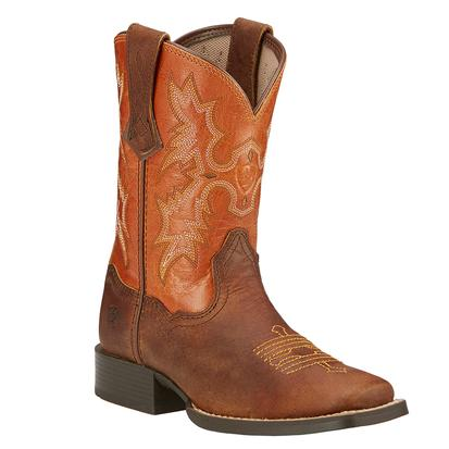 Ariat Powder Brown/Sunnyside Youth's Tombstone Boots