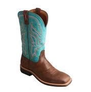 Twisted X Womens Turquoise Top Hand Cowgirl Boot