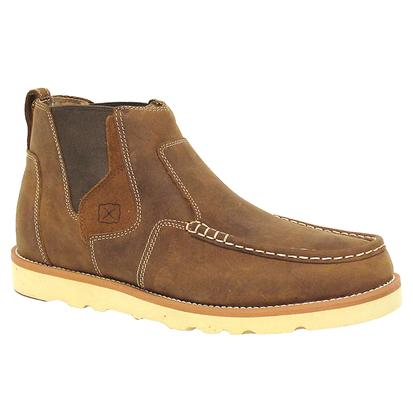 Twisted X Mens Casual Oiled Saddle Shoe