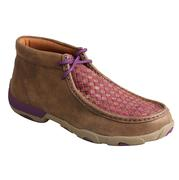 Twisted X Womens Driving Moc Tall Bomber/Purple
