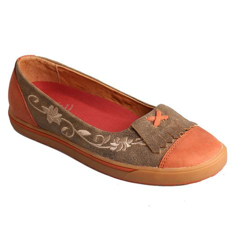 Twisted X Womens Casual Flat Shoe