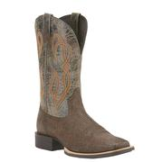 Ariat Mens Earthquake and Broken Slate Quantum Brander Boots