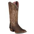 Ariat Women's Crossfire Caliente Pink & Brown Cowgirl Boots