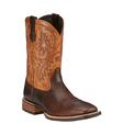 Ariat Men's Quickdraw Western Boots - Thunder Brown