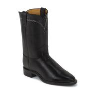 Justin Men's Domestic Ropers Black Chester Round Toe Boots