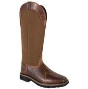 Justin Men's Brown Nylon Snake Boot