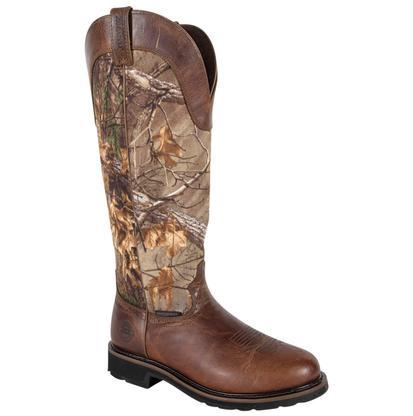 Justin Camo Snake Boot